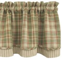 green plaid shower curtain Manufactures