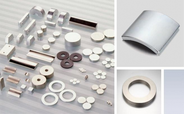 China ring and arc shape bonded neodymium magnets.Strong magnet.