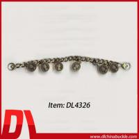 Anti-Brass Metal Bag Chain With Pendant Manufactures