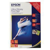 China Paper Epson Ultra Glossy Photo Paper 10 x 15cm (Pack of 20) C13S041926 on sale