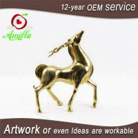 Golden Resin Deer Figurines for Home Room Office Shop Accessories Manufactures