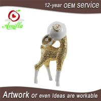 Cartoon Resin Deer Figurines for Home Office Shop Accessories Business Gifts Manufactures