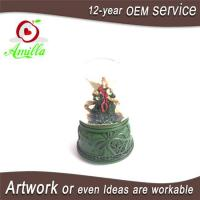 100mm Handmade Resin Angel Water Ball With Music For Home Decoration Manufactures