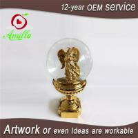 China 100mm Resin Angel Water Balls Decor Without Music Ornament For Sale on sale