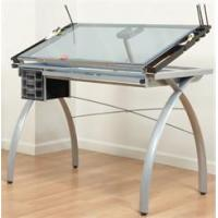 China Glass Top Drafting Table on sale