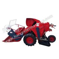 Buy cheap Walking Type Small Rice/Wheat Combine Harvester from wholesalers