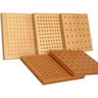 Wooden Perforated Acoustic Panels 1200x600x15 Manufactures