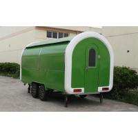 China Factory fast food cart trailer beach cart camper van coffee carts for sale on sale