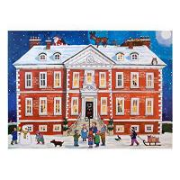 Quality Alison Gardiner Traditional Advent Calendar: Country House Christmas by Alison Gardiner Designs Ltd for sale