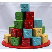 Quality Wooden Calendar Box Tree Christmas Advent for sale