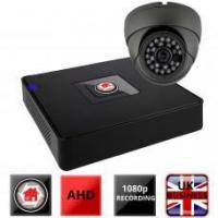 Sentry 1 Grey Dome CCTV Camera Kit AHD HDTVI 1080P HD 4in1 Manufactures