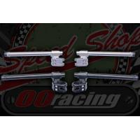 BARS/GRIPS Handlebar. Bars. Clip-on's Cafe racer look CNC Alloy Universal fit Adjustable