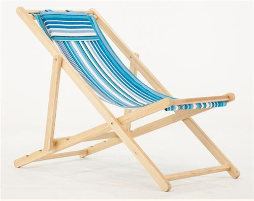 Quality wood fooding sand chair high-impact deck chair woo for sale