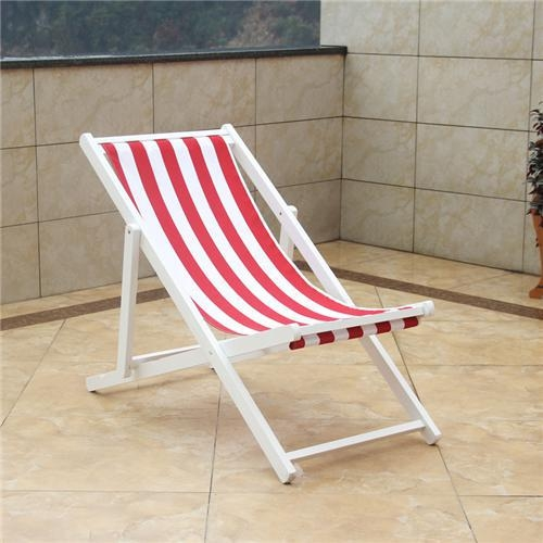 Quality wood fooding sand chair ISO certificated Adjustabl for sale