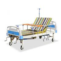 Hand Rocking Hospital Patient Bed