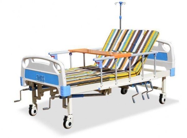Quality Hand Rocking Hospital Patient Bed for sale