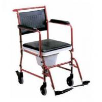 Aluminium Adjustable Toilet Chair with Wheels Manufactures