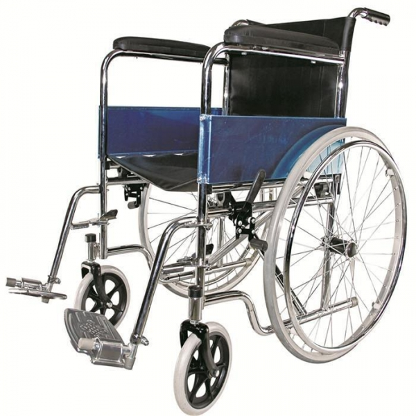 China Chrome Plated Lightweight Wheelchair