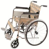 Quality Chrome Plated Portable Elderly Wheelchair for sale
