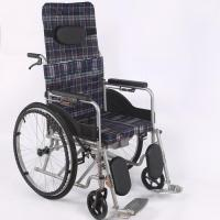 Quality Semi-reclining Foldable Wheelchair for sale