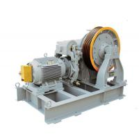 China Elevator Worm Gear Traction Machine on sale
