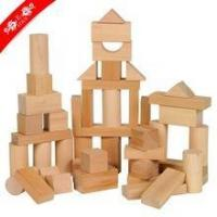 Customized new wood blocks for kids learning Manufactures
