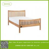 China queen size wood bed frame on sale