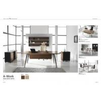Other Furniture Manager desk,Zebra Veneer office table with steel leg Manufactures