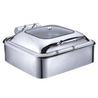6.5 Qt. Stainless Steel Square Induction Chafer wi Manufactures