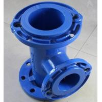 Ductile Iron Tee with all loose flange Manufactures