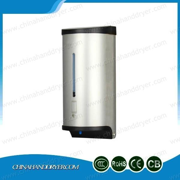Quality 0.8l Stainless Steel 304 Touch Free Wall Soap Dispenser for sale