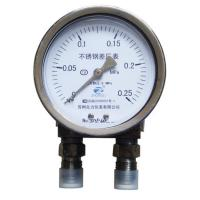China 4inch-100mmall stainless steel case static pressure differential pressure gauge on sale