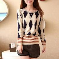 Buy cheap Women's Fashion & Clothing Women's Round Collar Fashion Elegant Knitwear Pullover from wholesalers