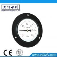 China Pressure Gauge Series Vacuum Compound Pressure Gauge With Front Flange on sale