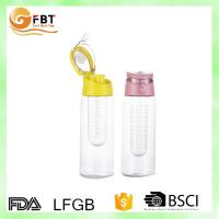 New products 2016 fruit water bottle / water bottle bpa free/ water bottle fruit infuser Manufactures