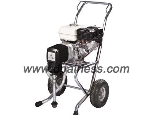 Quality DP-3900 8hp petrol engine powered airless painting sprayer kit for sale
