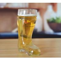 Buy cheap Drinking Glasses DX-73185 Large Best Clear Boot Beer Glasses from wholesalers