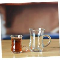Quality Drinking Glasses Machine Made Italian Espresso Coffee Glass Cups for Latte for sale