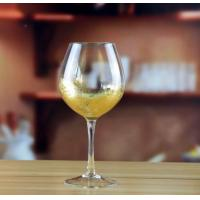 Drinking Glasses Golden Wine Goblet Manufactures