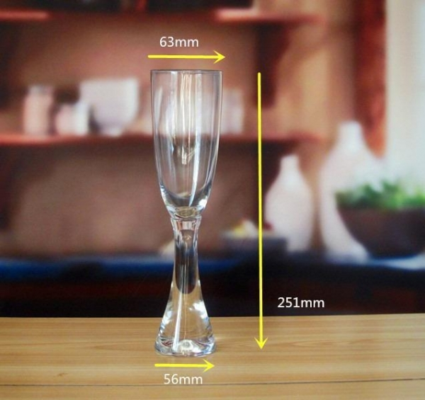 Quality Drinking Glasses Handmade Unique Champagne Glasses for sale