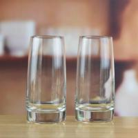 Drinking Glasses Handblown Crystal Cylinder Clear Drinking Glass Cup Manufactures