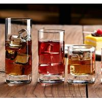 Drinking Glasses Custom Crystal Highball Glass for Water Or Juice And Milk Manufactures