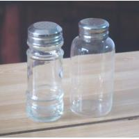 Buy cheap Perforated Stainless Steel Lid Hot Sale High Quality Glass Salt And Pepper Shakers from wholesalers