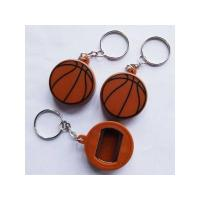 Promotion Plastic Basketball Keychain Bottle Opener Manufactures