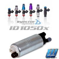 Quality Savings Packages Injector Dynamics 1050x Injectors & Walbro Fuel Pump Combo[b1000-w255] for sale