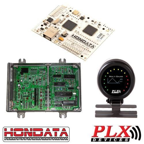 China Savings Packages Hondata S300 w/ OBD1 ECU and PLX Wideband[s300-dm6-p75]