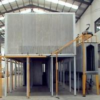 Gas burner type powder coating oven Manufactures