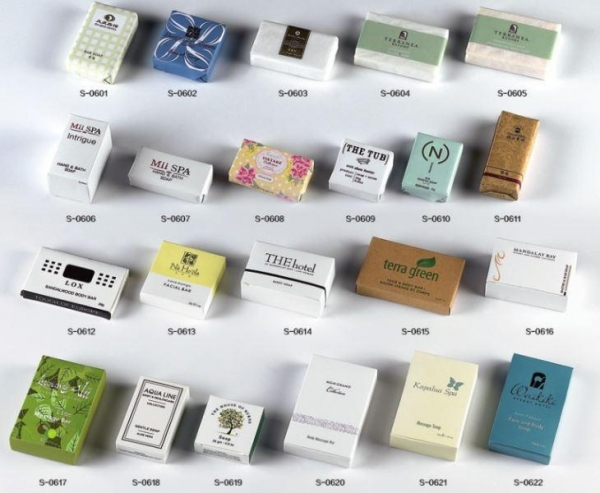 Quality Hotel Amenities Small Mini Guest Personalized Soap for sale