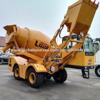 3.5m/Batch Self Propelled Concrete Mixers, 270 Degrees Rotation Manufactures