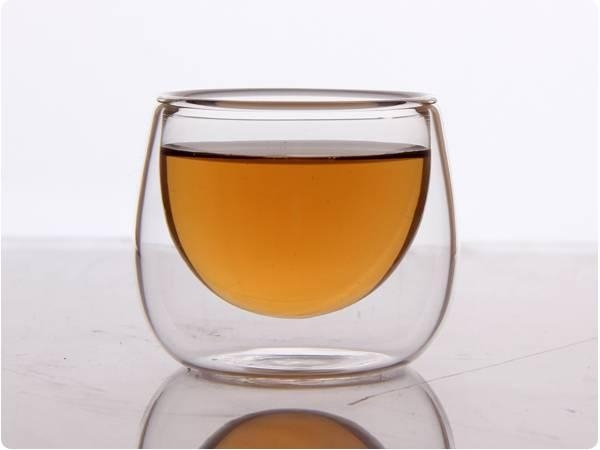 Quality Popular design Double wall glass coffee cup for sale